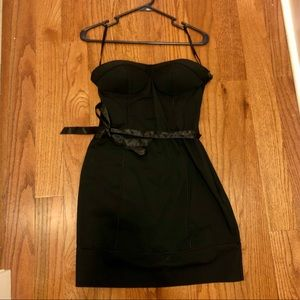 Guess Cute Black Dress with bow